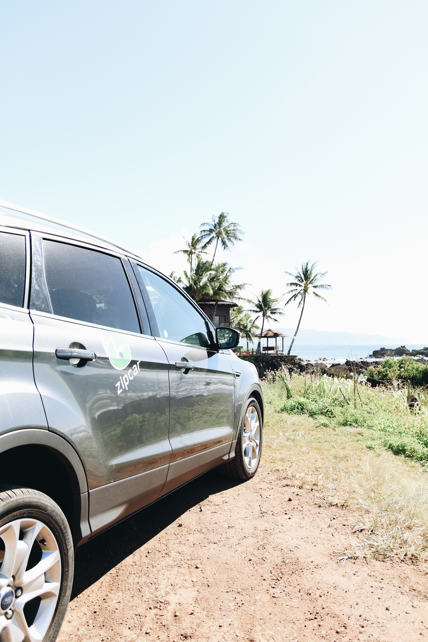 exploring oahu north shore with our zipcar