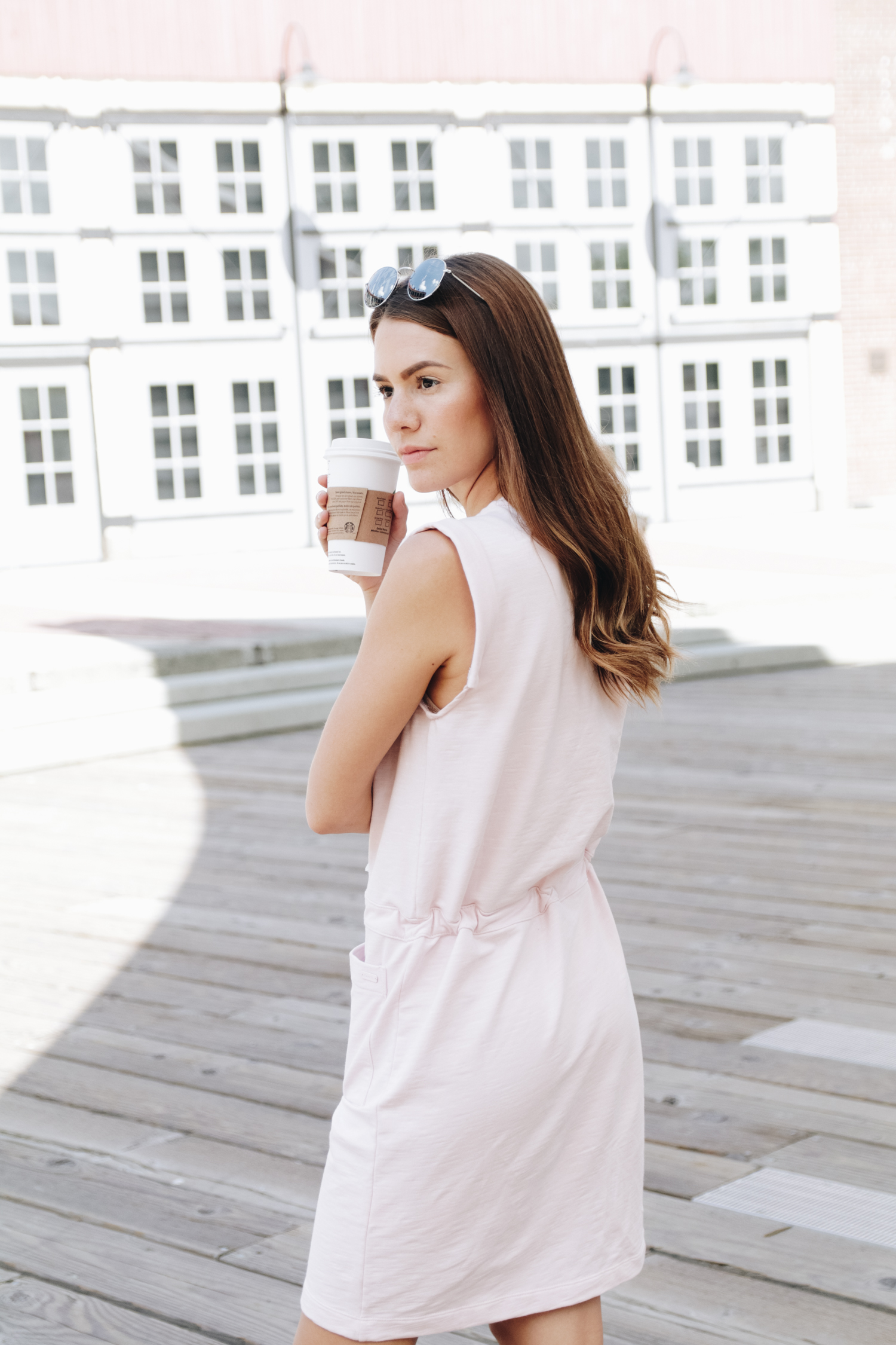 pink dress from bench canada