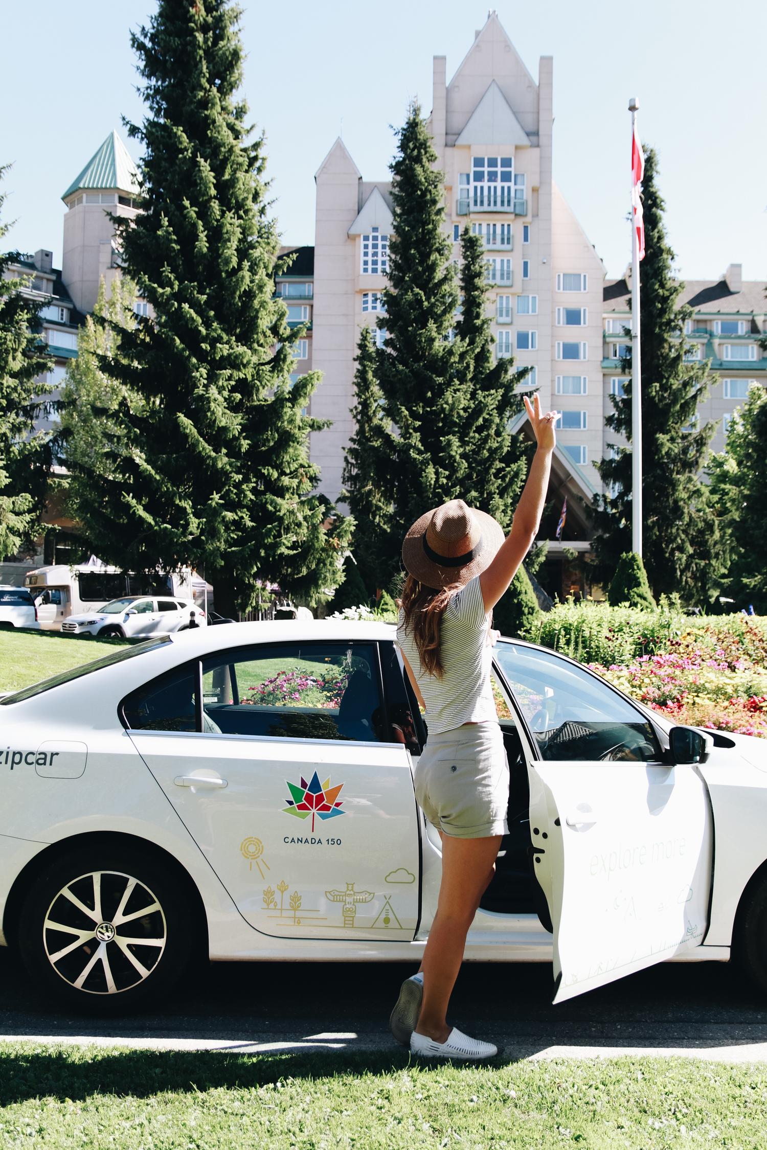 Canada 150 Zipcar Contest Whistler