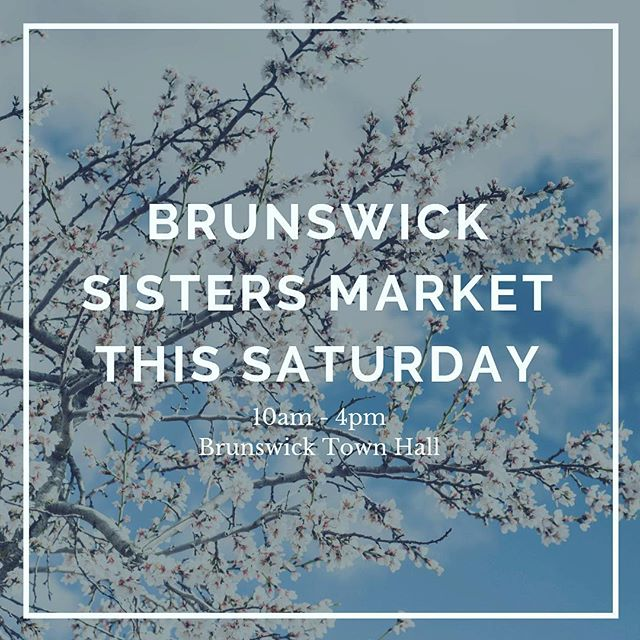 I'll be at The @sistersmarket this Saturday - come and try some jam and @blooming.marvellous goods! 🤤
