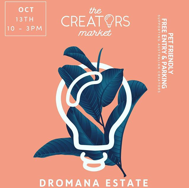 Find us and @blooming.marvellous at @thecreatorsmarket Dromana Estate Market on the 13th...yum! 💁♀️