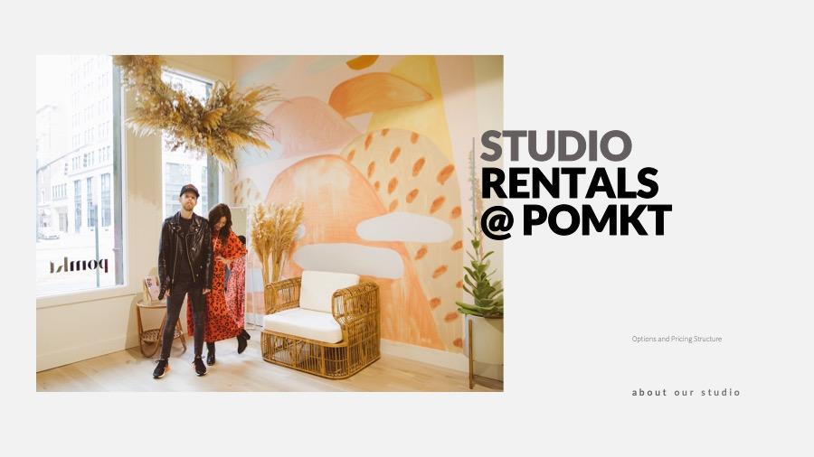 Photography Studio Rentals — POMKT