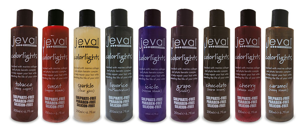 JEVAL COLORLIGHT SHAMPOO PACKAGING DESIGN
