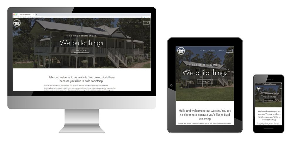 CHRIS+KING+CONSTRUCTIONS+WEBSITE+BUILD