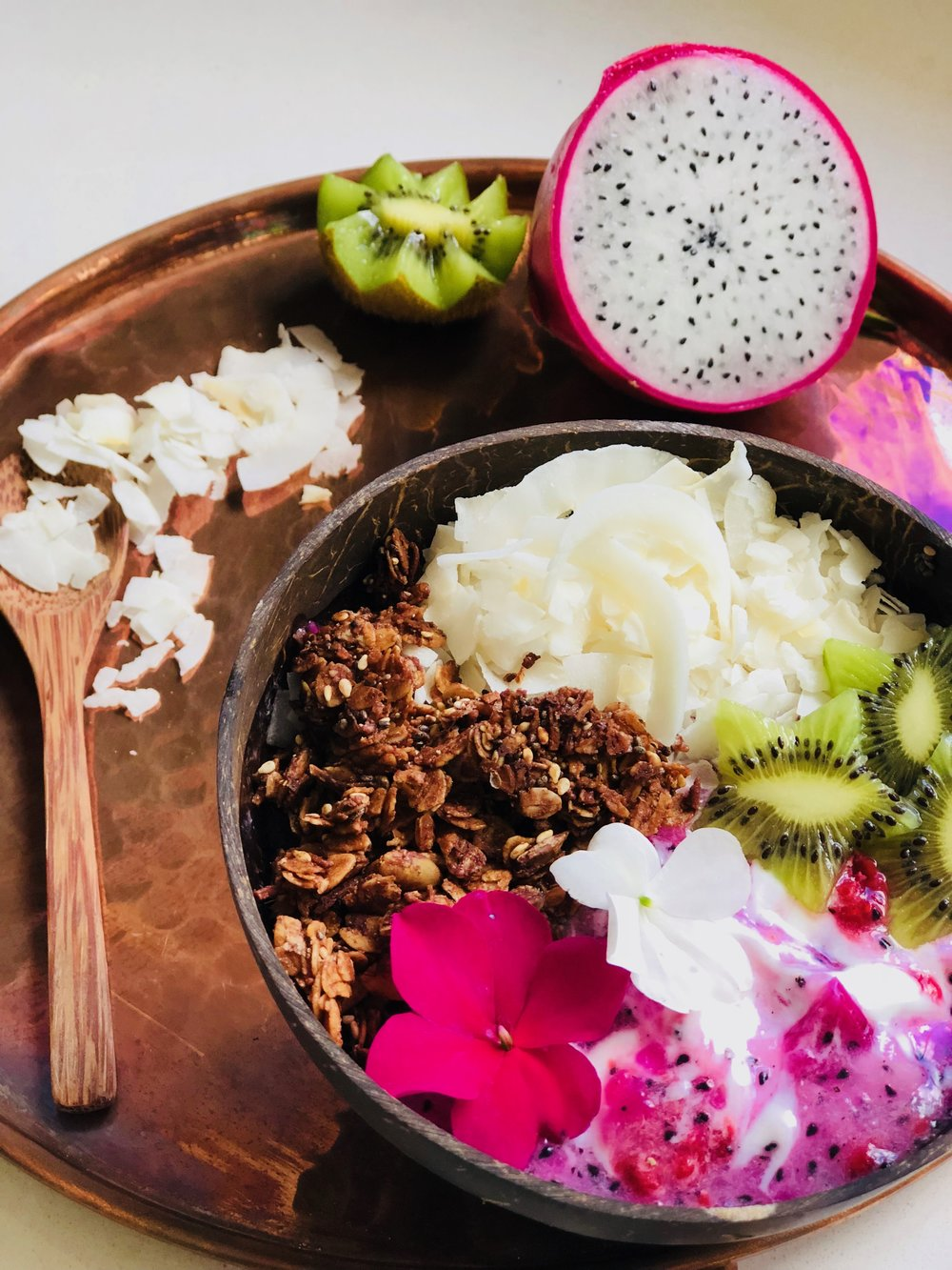Dragon Fruit Breaktfast Bowl