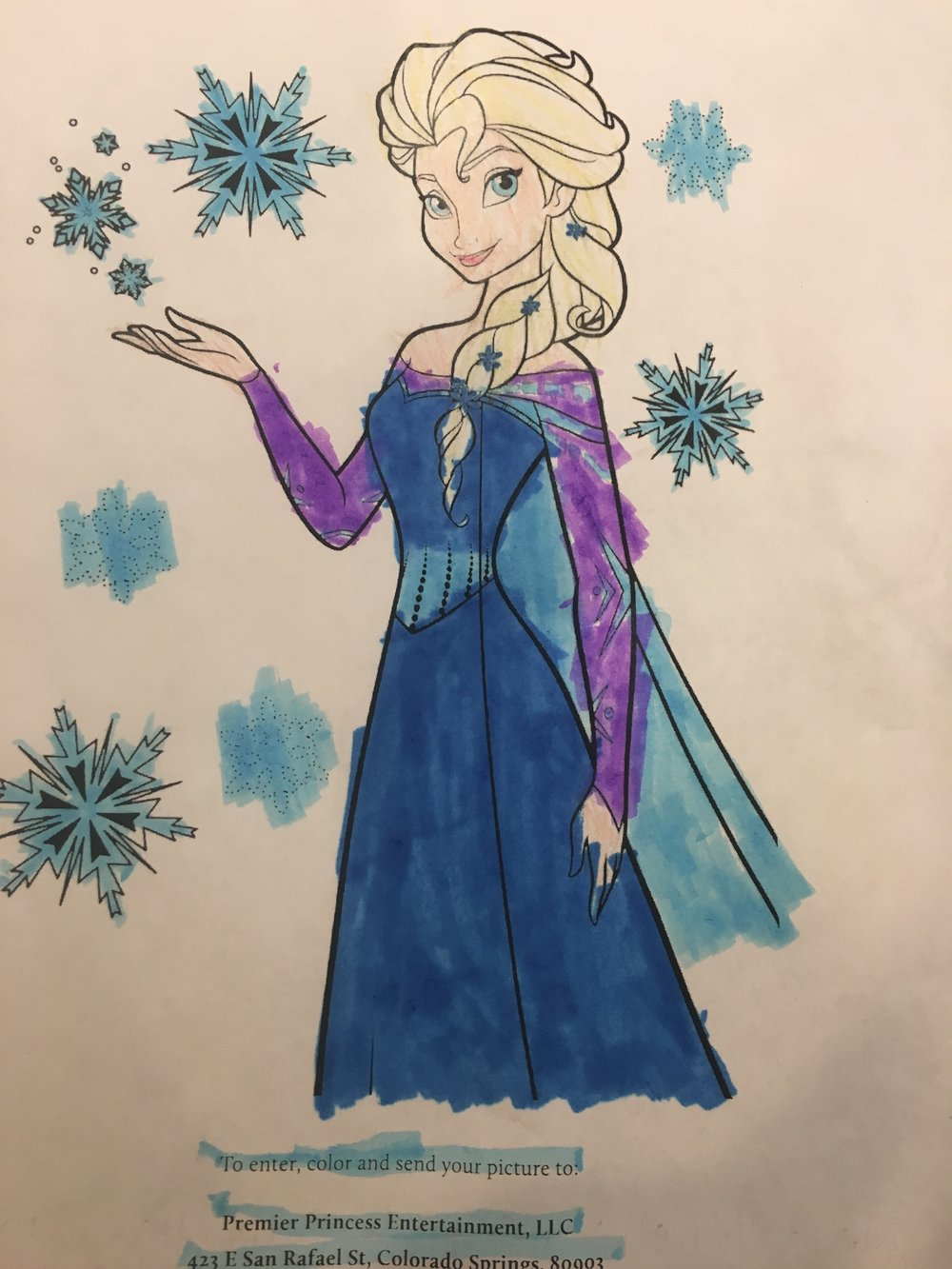 Congratulations to this month's winner, Princess Neva from South Dakota! Her beautiful artwork will be displayed on our site until our next winner is announced next month!