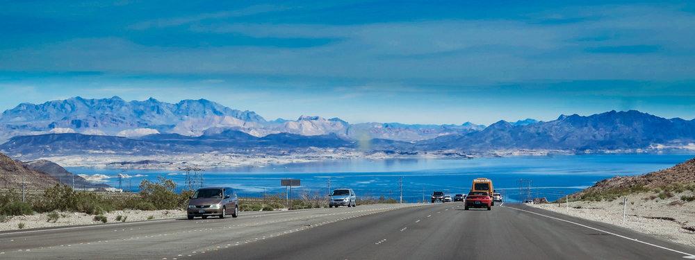 The impressive Lake Mead