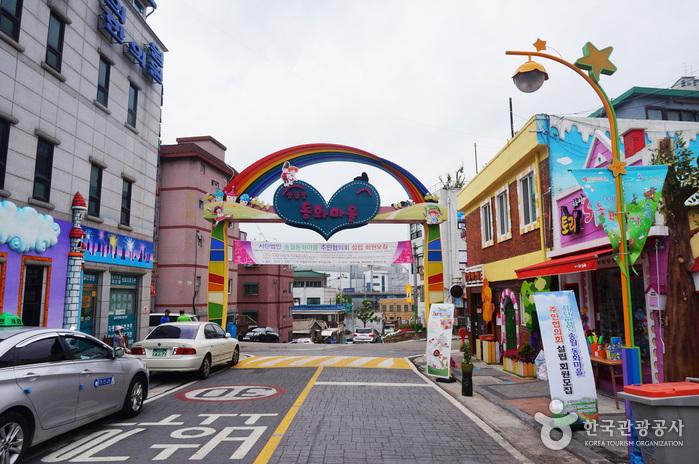 Songwol Fairy Tale Village. Image credit:  Korea Tourism Organization