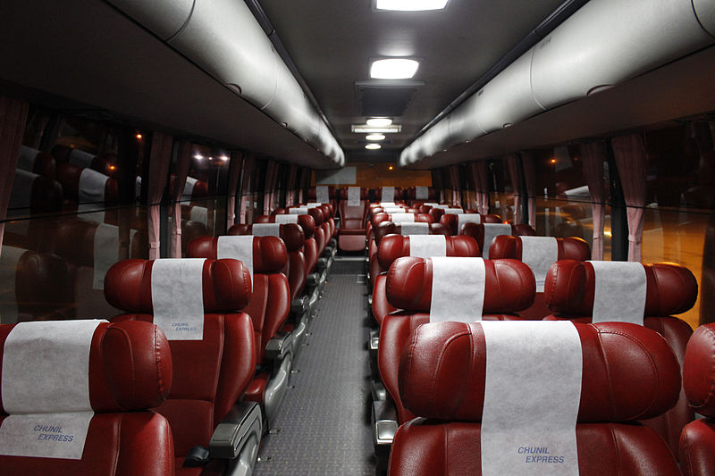 Excellent Bus interior. Image credit:  Minseong Kim