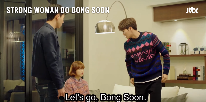 Screen grabs from ' STRONG WOMAN DO BONG SOON Ep 3 – You Should Sleep Over Too ;) ' by DramaFever