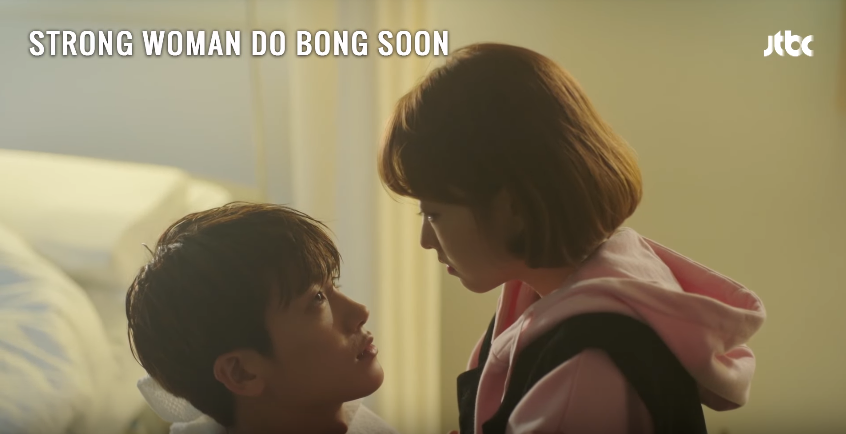 Screen grabs from ' STRONG WOMAN DO BONG SOON Ep 9 – What Should We Do?'  by DramaFever