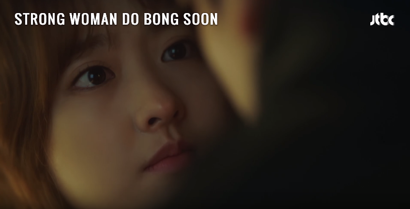 Screen grabs from ' STRONG WOMAN DO BONG SOON Ep 14 – I Love You ' by DramaFever