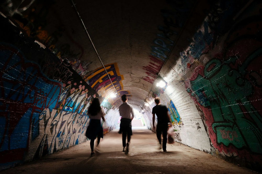 What to do in Seoul? Visit an art tunnel! Image credit:  SEOUL Magazine