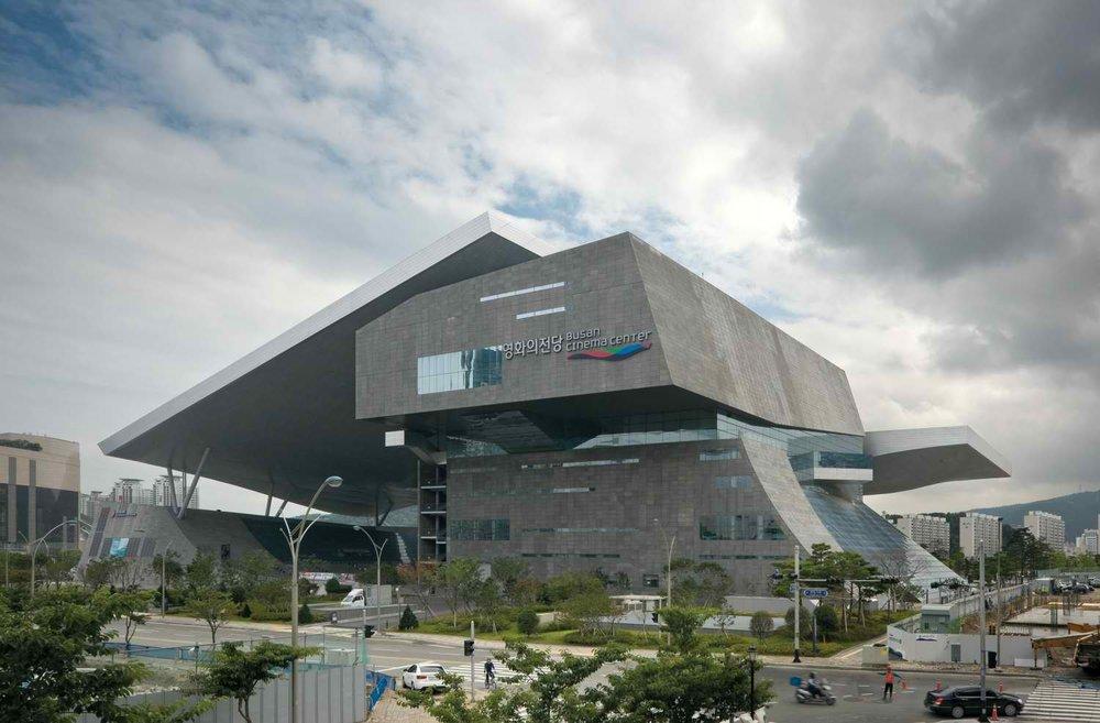 Busan Cinema Center. Image credit:  COOP HIMELB(L)AU