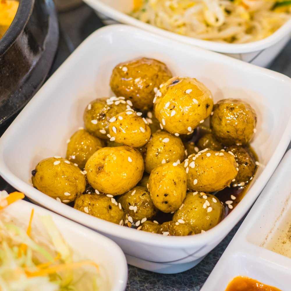 Algamja-jorim (Braised Baby Potatoes)