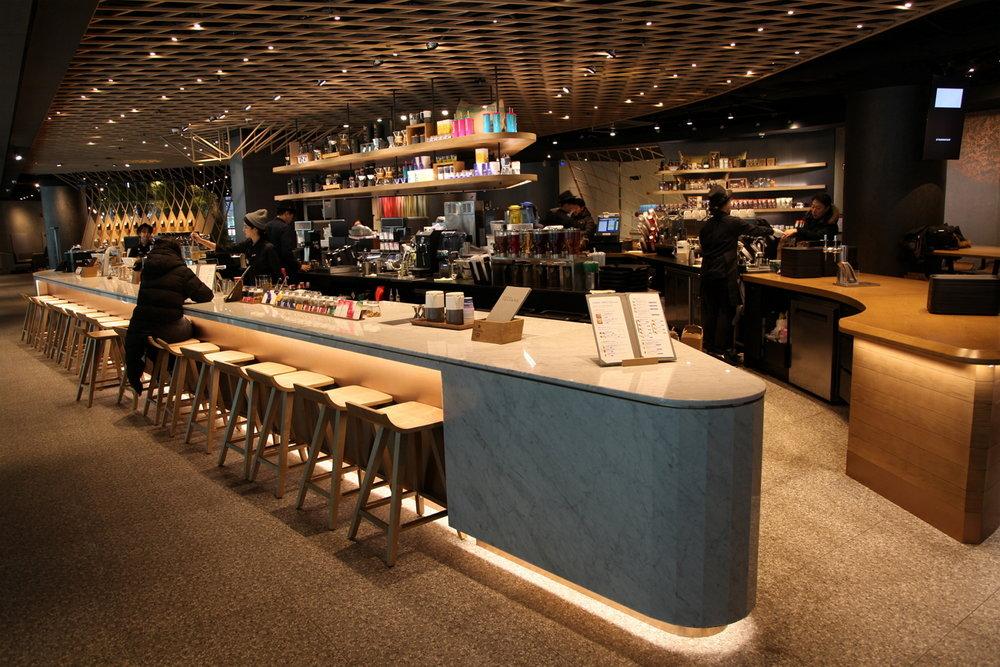 Starbucks Jongro in Seoul. Image credit:  Starbucks Newsroom