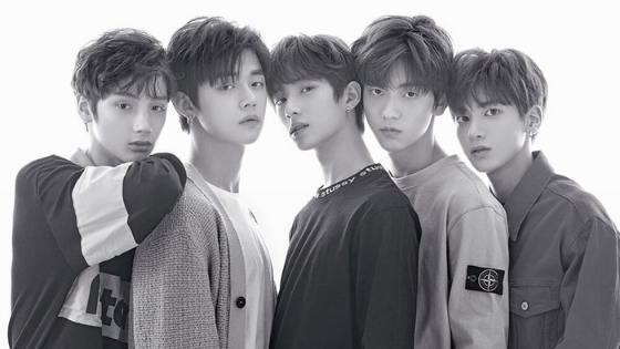 TXT Members. Image credit:  BigHit Entertainment
