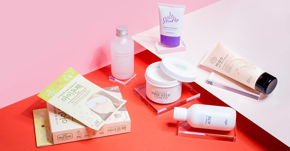 Various K-Beauty products. Image credit:  Althea Philippines Facebook Page