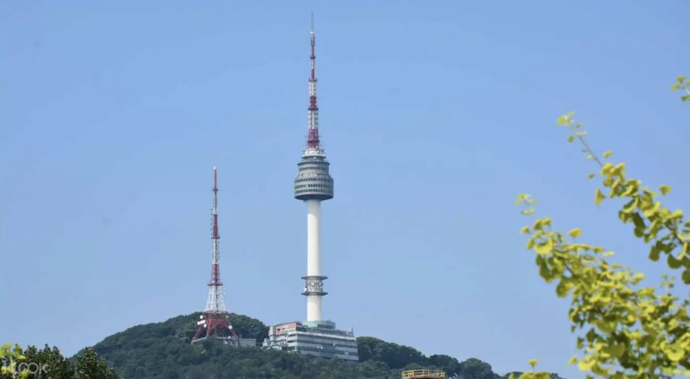 N Seoul Tower. Screengrab from  Klook