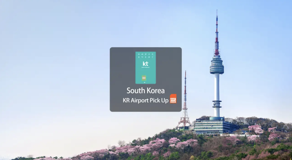 Easily pick up your Korea SIM card at Incheon International Airport! Screengrab from  Klook