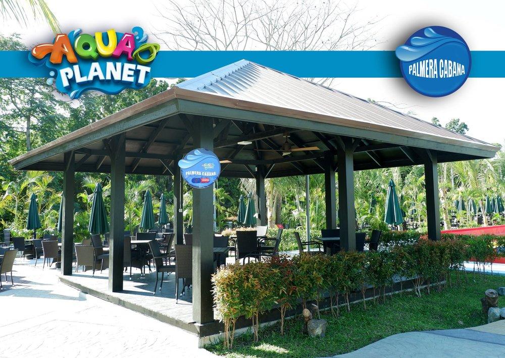 Palmera Cabana at Aqua Planet Clark, Pampanga. Image credit:  Aqua Planet Facebook Page