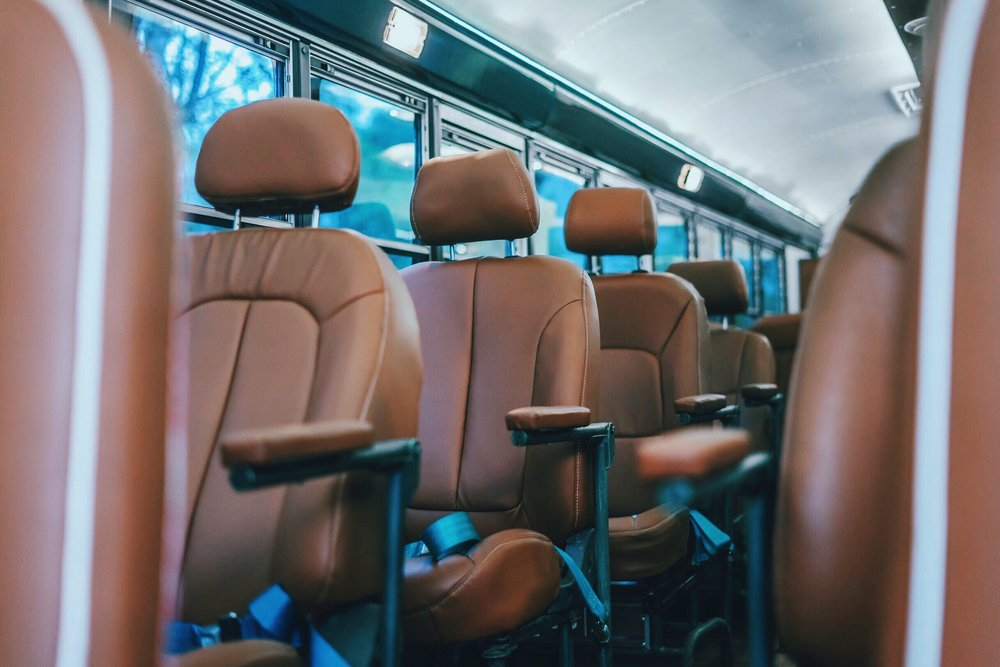 Comfortable Seats - Enjoy the ride on our fully reclinable seats