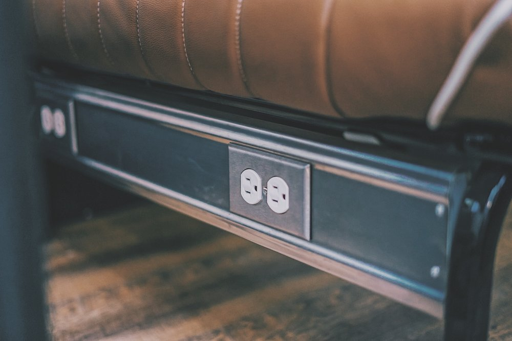 Wi-Fi & Power Outlets - Enjoy our complimentary Wi-Fi during your ride.