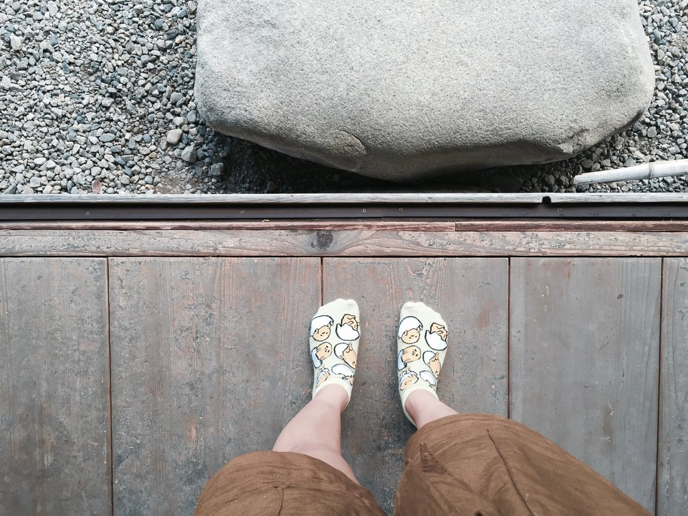 no shoes in Japan