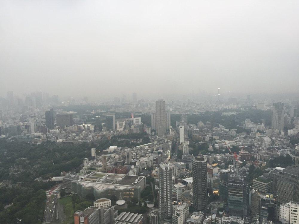 Roppongi skyview from Roppongi Tower