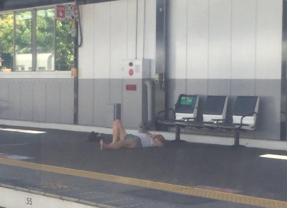 Japanese train etiquette
