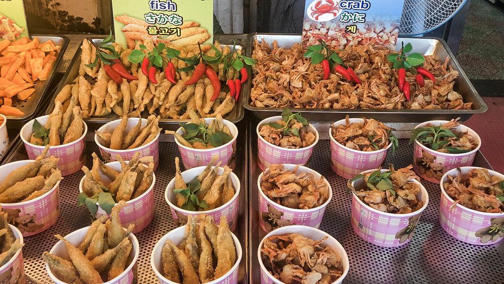 taiwanese fried food is amazing