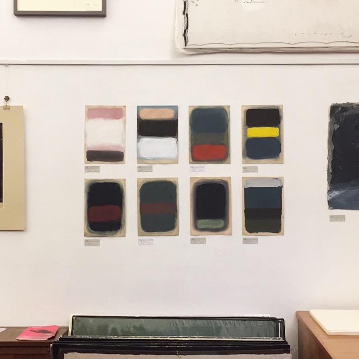 Mini Rothko, 2017