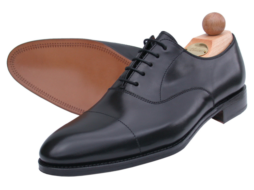 Captoe Oxford Boxcalf schwarz 2