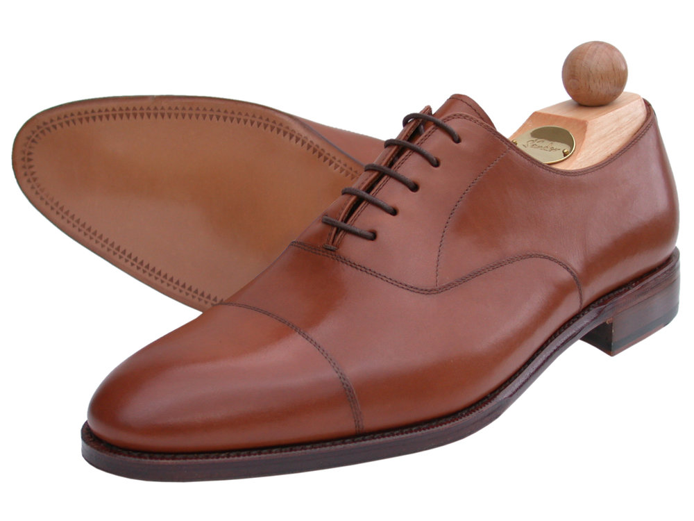 Captoe Oxford Boxcalf cognac