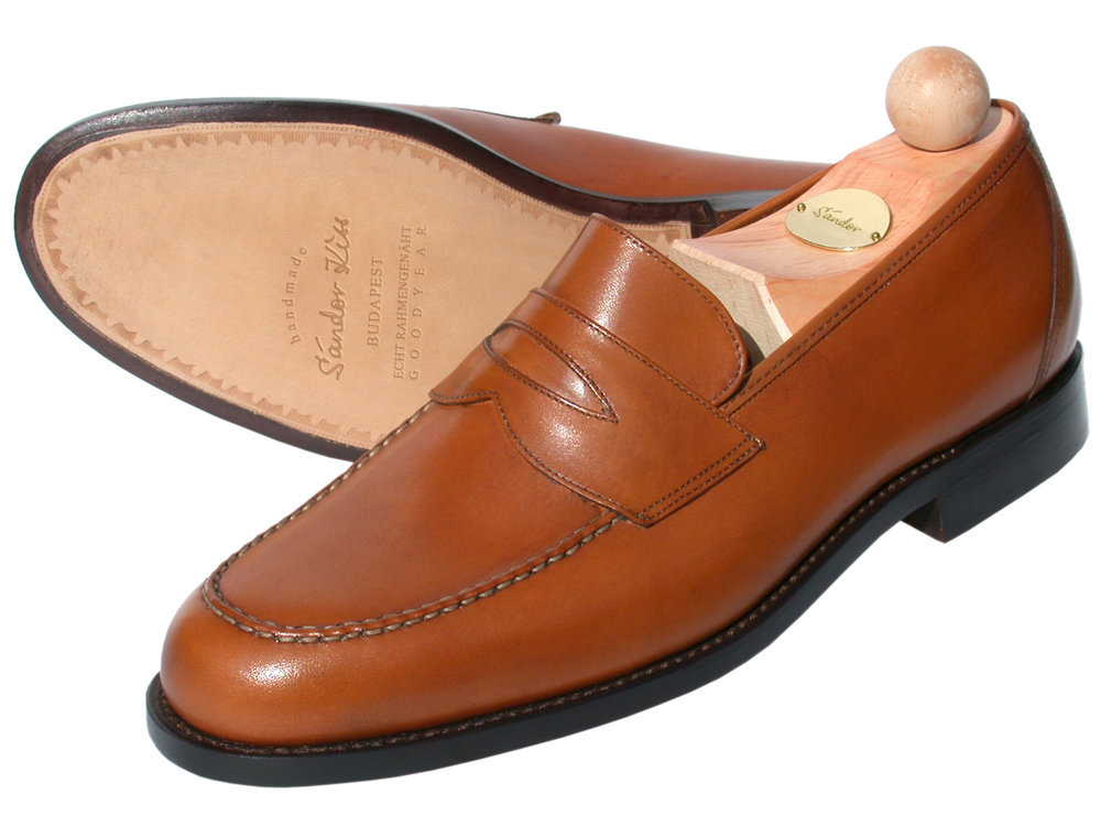 Slipper Boxcalf cognac