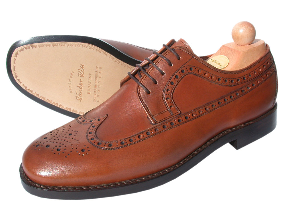 Longwing Boxcalf cognac