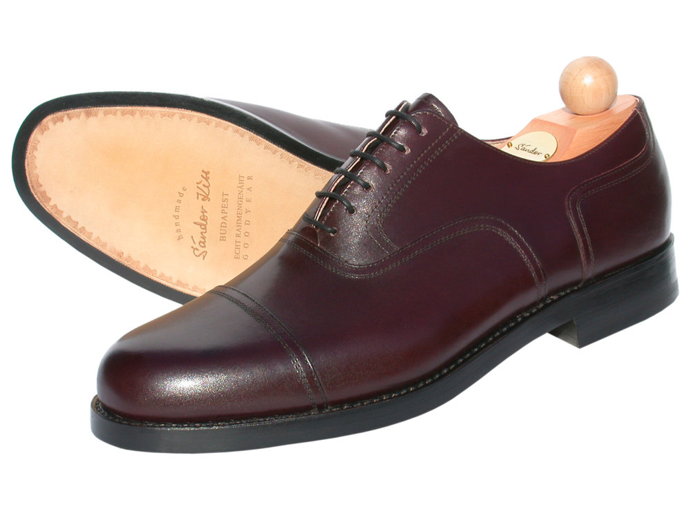 Captoe Oxford Boxcalf bordeaux