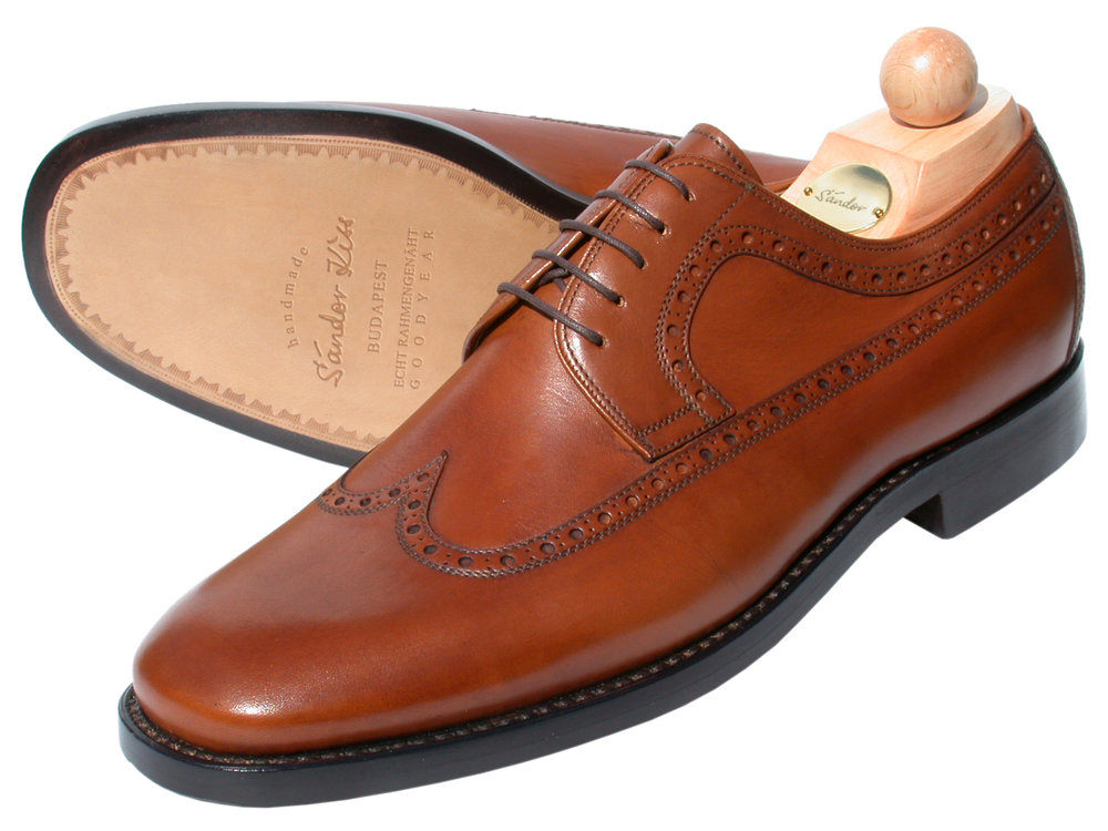 Semi-Longwing Boxcalf cognac