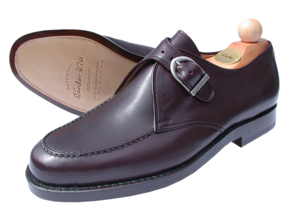 Monk Boxcalf bordeaux