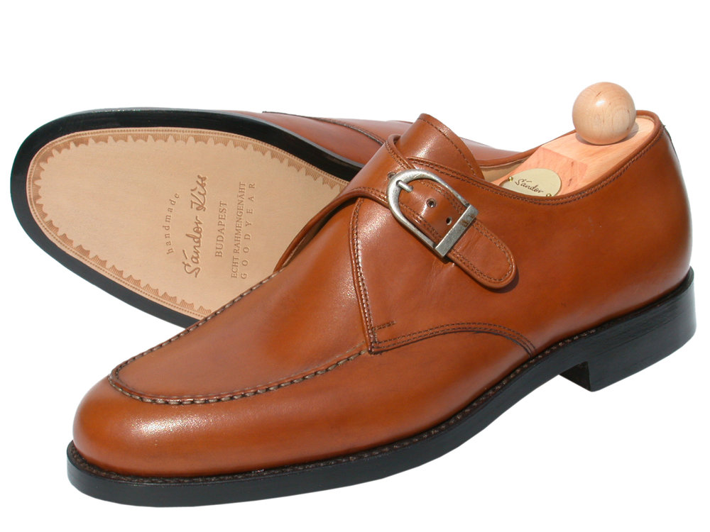 Monk Boxcalf cognac