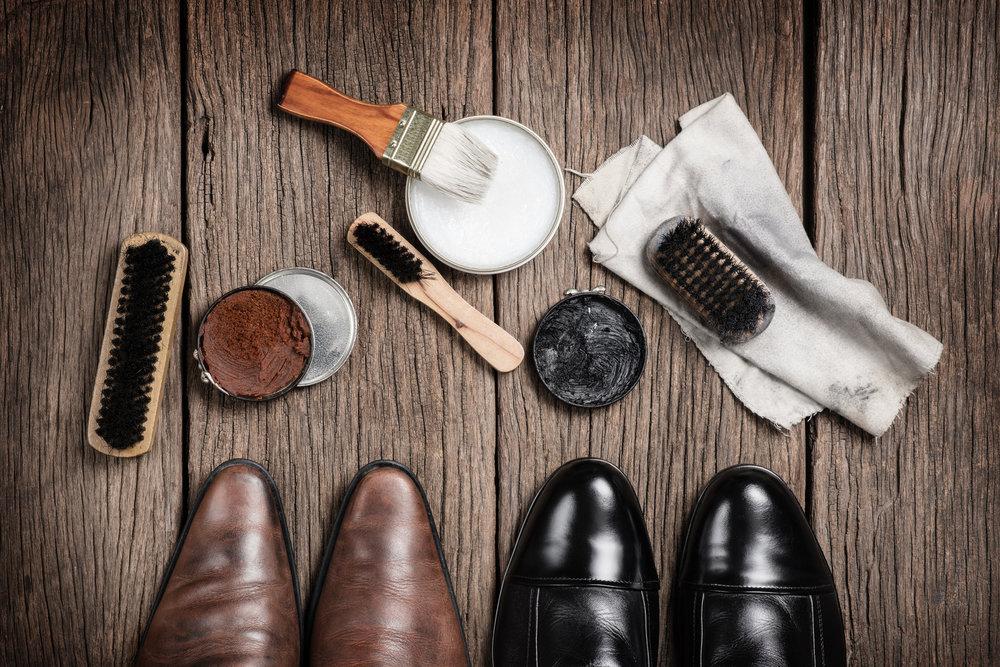 Schuhpflege - Alles was Sie zur Pflege brauchen