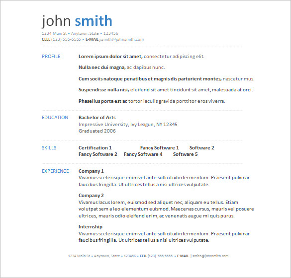 IS YOUR RESUME LOOKING LIKE THIS? -