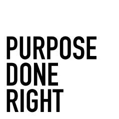 Purpose Done Right logo