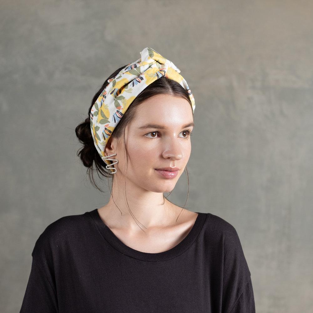 Linen headbands