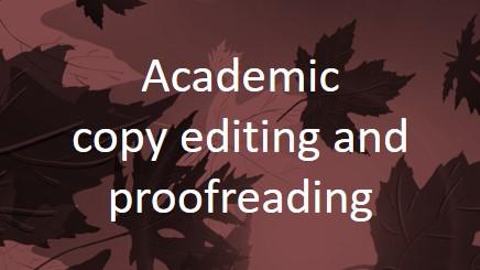 College essays copy edit service