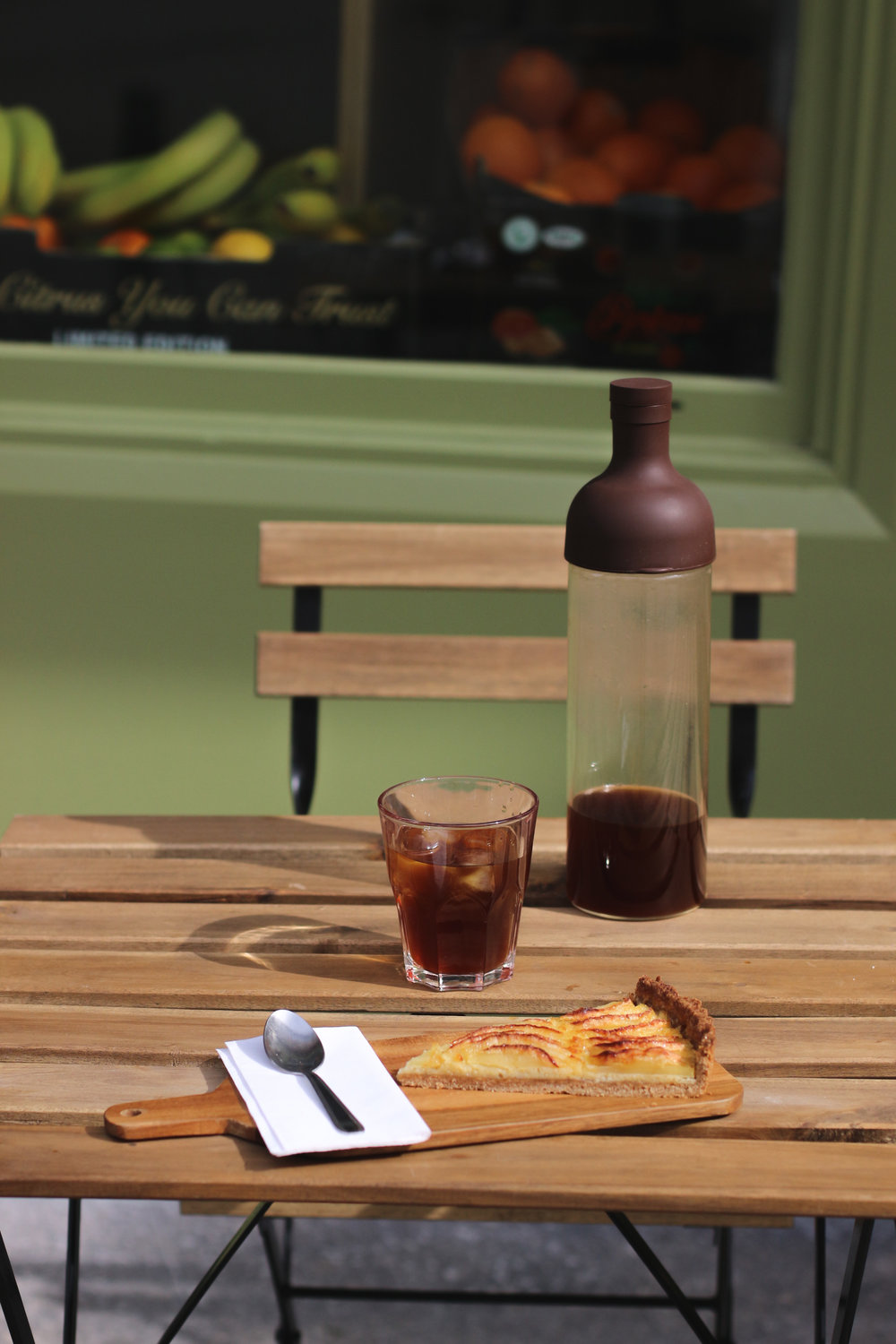 Dune coffee shop rouen - cold brew