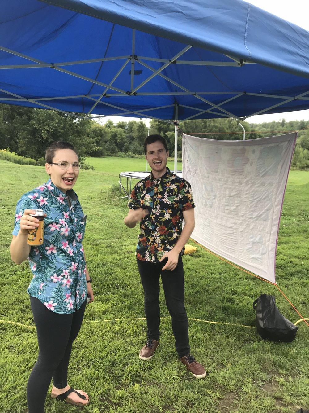 Hawaiian shirts FTW.