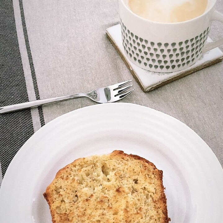 4. Heart Warming Recipe - There's nothing better than baking one of your favourite bakes- a banana loaf is a firm favourite of ours! We like to cut ours into thick slices and toast each side under the grill to make it utterly delicious.(Featuring our Dew Drop Short Ceramic Mug)