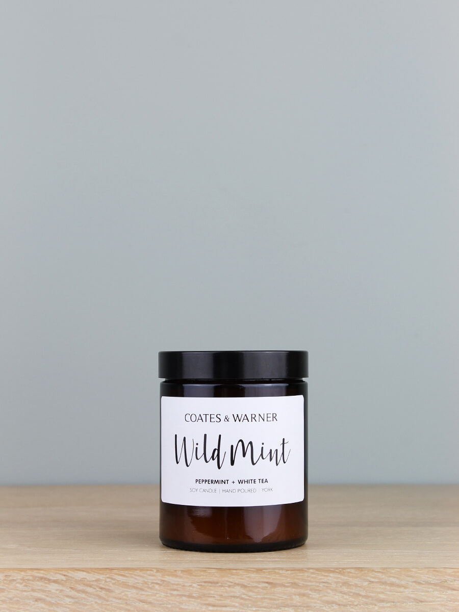 Handmade in the USA with 100/% Soy Wax 12oz White Tea Soy Candle