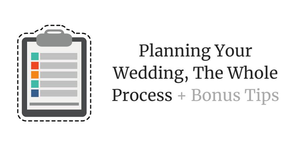 Planning Your Wedding - Learn the full process of how to plan your wedding and how to chose the vendors!